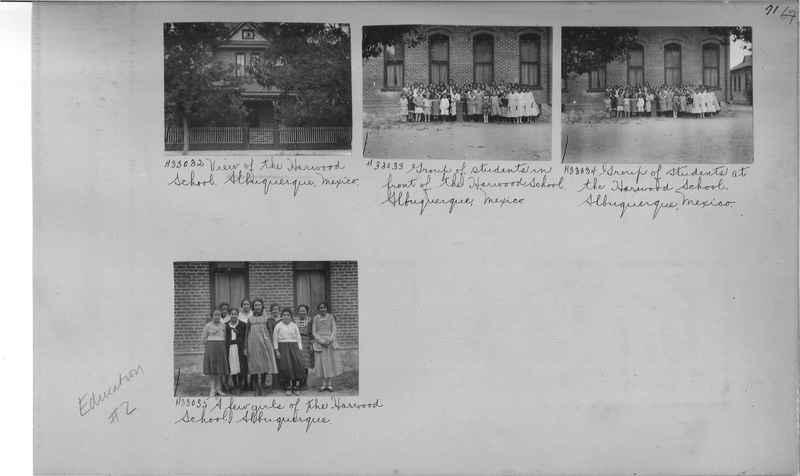 Mission Photograph Album - Education #2 page 0071