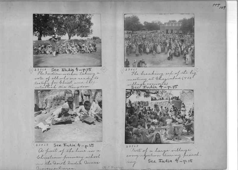 Mission Photograph Album - India - O.P. #01 Page 0109