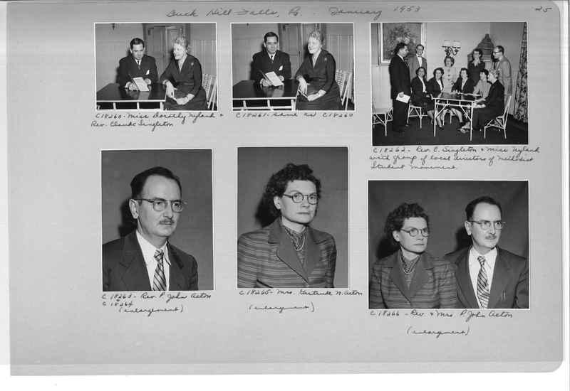 Mission Photograph Album - Portraits #08 Page 0025