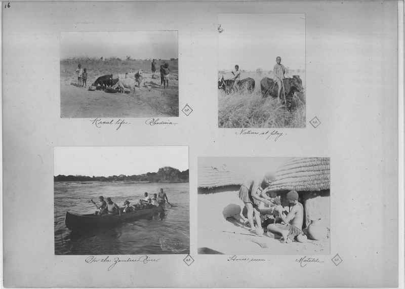 Mission Photograph Album - Africa O.P. #4 page 0016