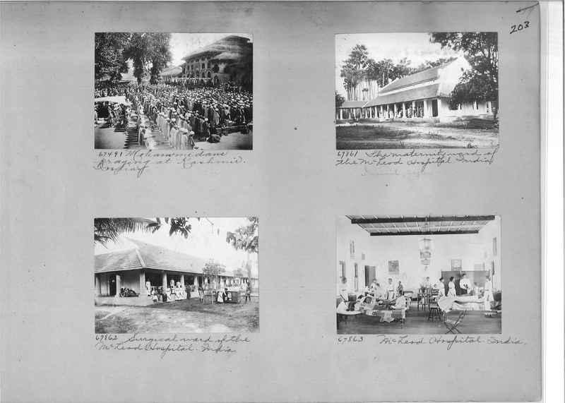 Mission Photograph Album - India #08 Page 0203