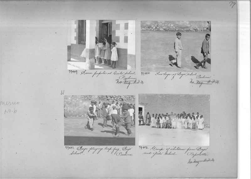 Mission Photograph Album - Mexico #06 page 0077