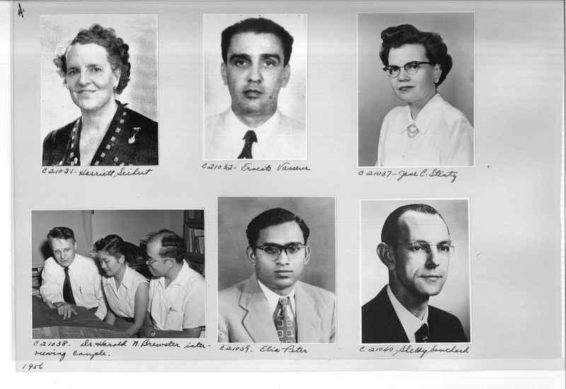 Mission Photograph Album - Portraits #10 Page 0004