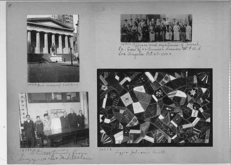 Mission Photograph Album - America #1 page 0010
