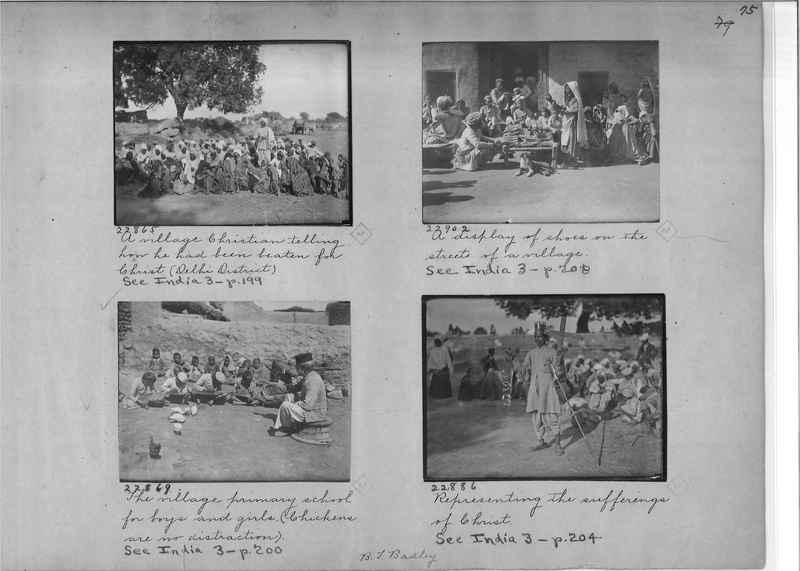 Mission Photograph Album - India - O.P. #01 Page 0075