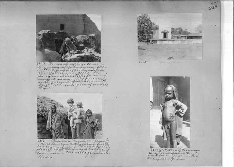 Mission Photograph Album - India #08 Page 0229