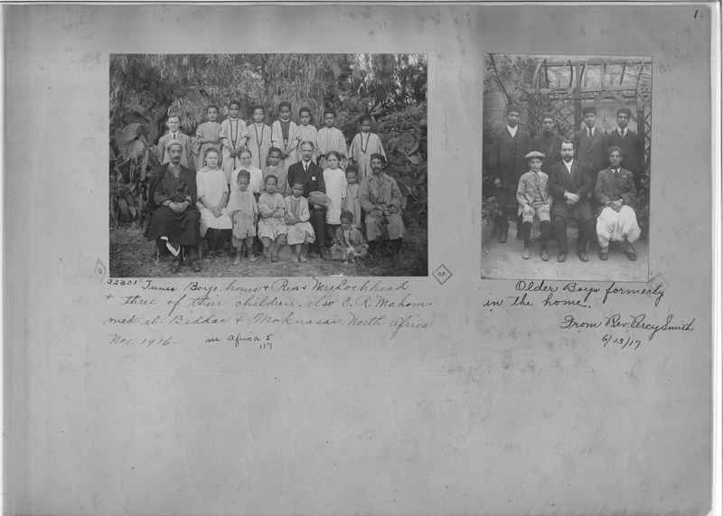 Mission Photograph Album - Africa - Madeira O.P. #2 page 0001