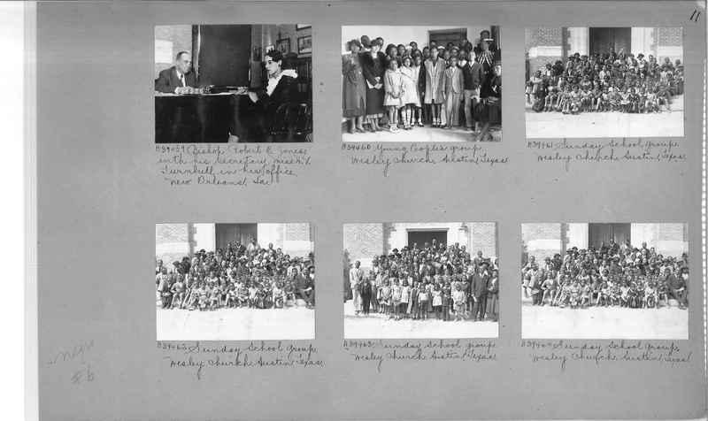 Mission Photograph Album - Negro #6 page 0011
