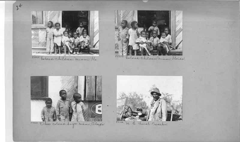 Mission Photograph Album - Negro #6 page 0024