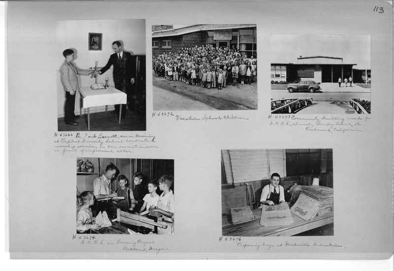 Mission Photograph Album - Cities #18 page 0113
