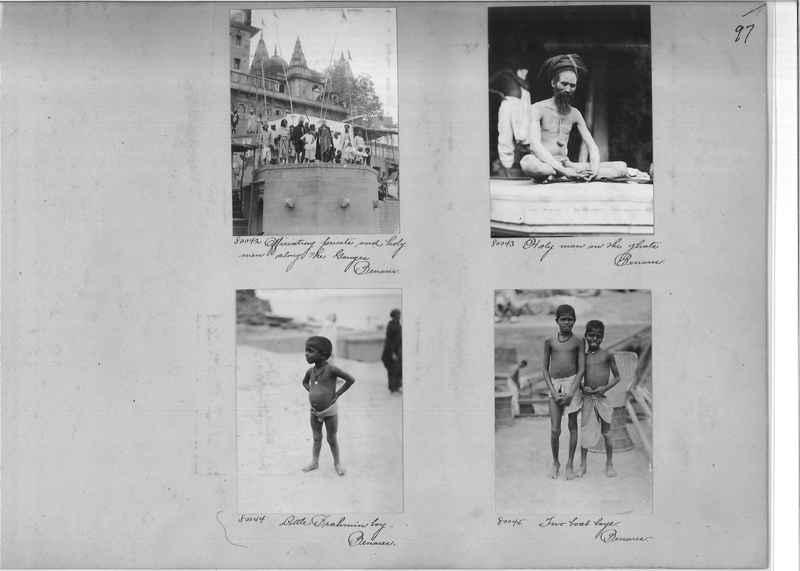 Mission Photograph Album - India #09 Page 0097