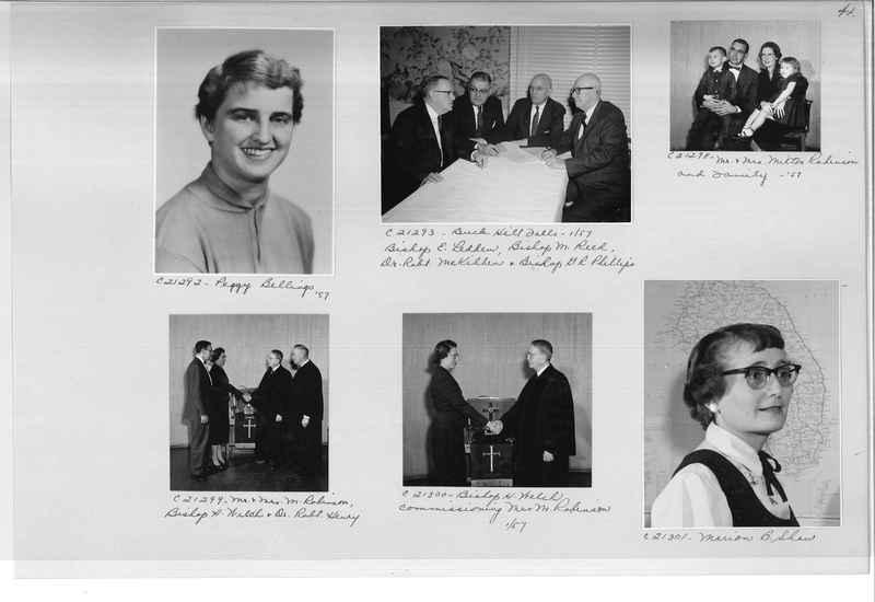 Mission Photograph Album - Portraits #10 Page 0041