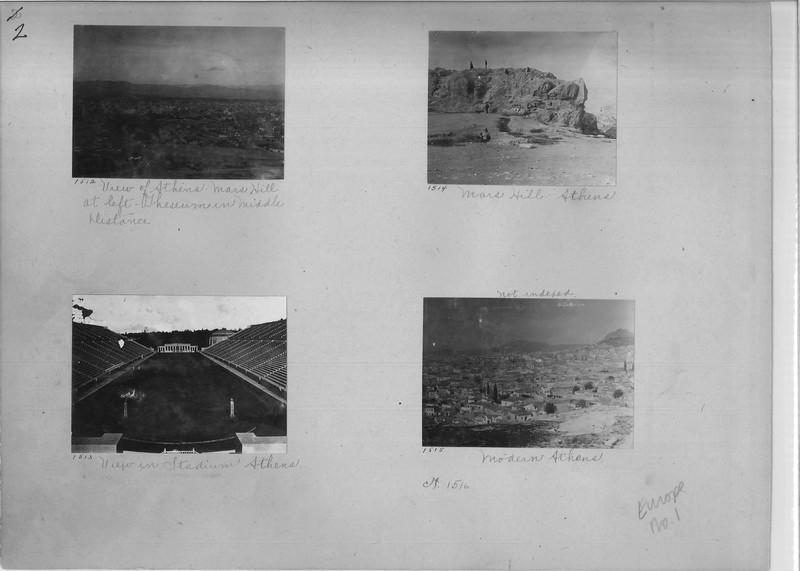 Mission Photograph Album - Europe #01 Page 0002