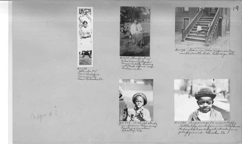 Mission Photograph Album - Negro #2 page 0019