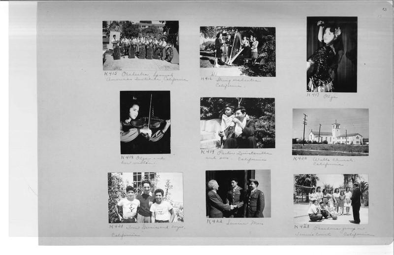 Mission Photograph Album - Latin America #3 page 0013