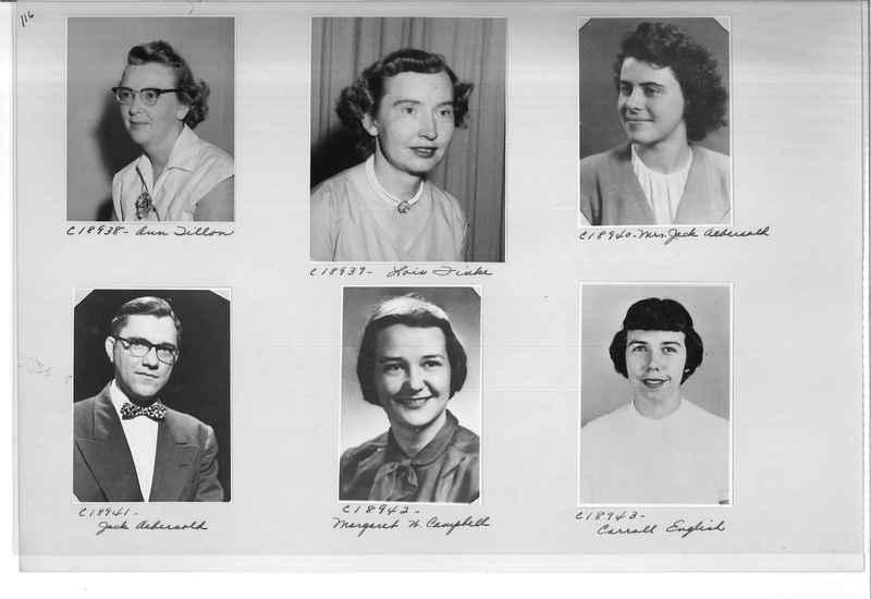 Mission Photograph Album - Portraits #08 Page 0116