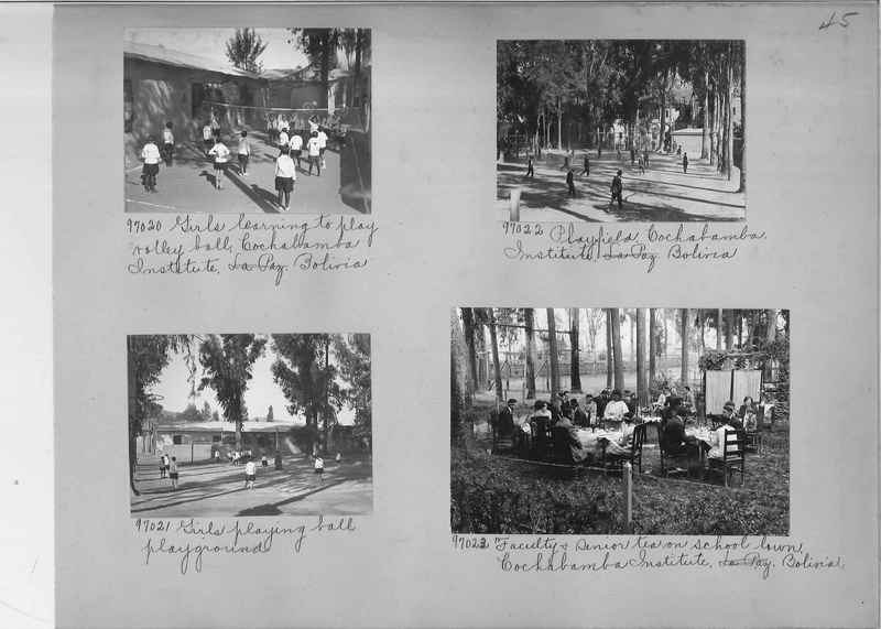 Misson Photograph Album - South America #8 page 0045