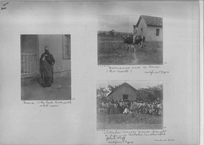 Mission Photograph Album - Africa - Madeira O.P. #1 page 0200