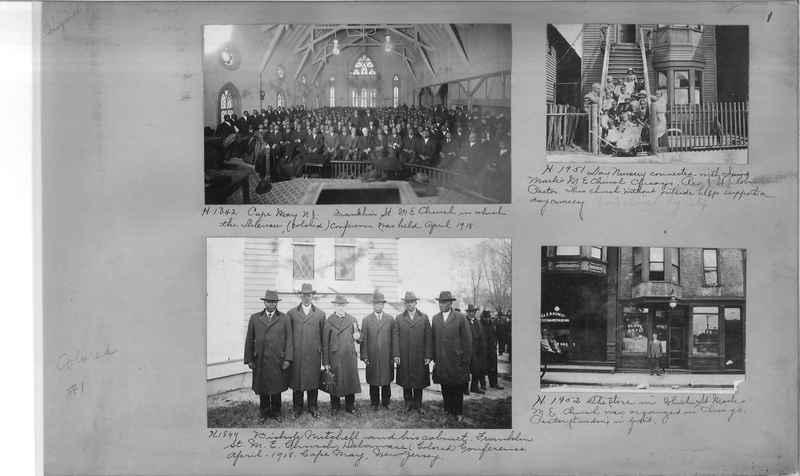 Mission Photograph Album - Negro #1 page 0001