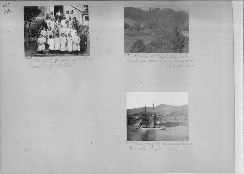 Mission Photograph Album - Europe #01 Page 0012