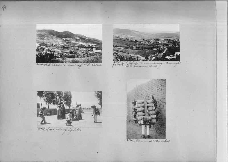 Mission Photograph Album - Mexico #04 page 0074