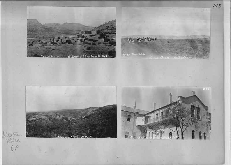 Mission Photograph Album - Western Asia - O.P. - #01 page_0143