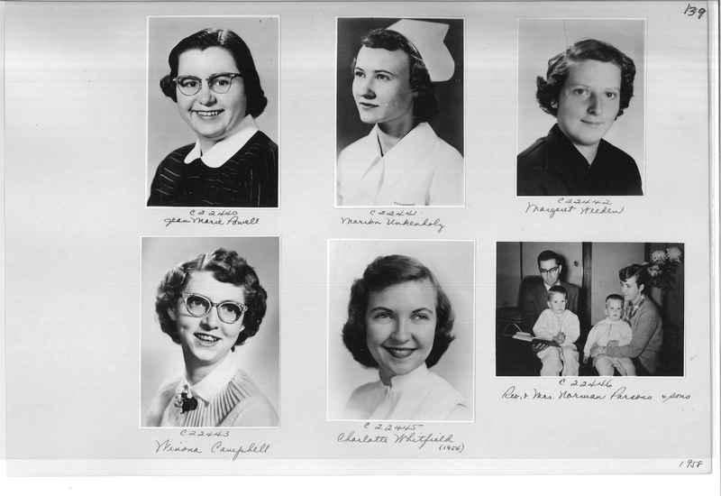 Mission Photograph Album - Portraits #10 Page 0139