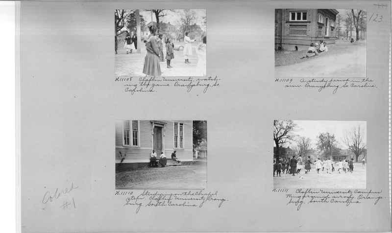 Mission Photograph Album - Negro #1 page 0123