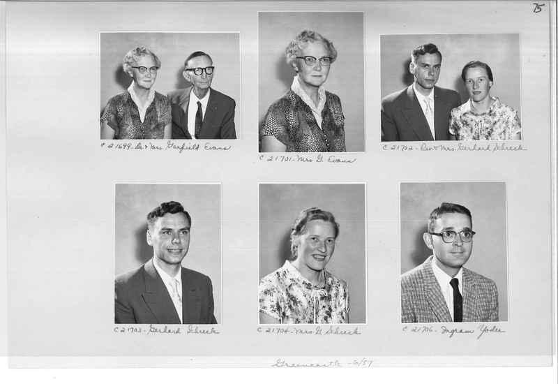 Mission Photograph Album - Portraits #10 Page 0075