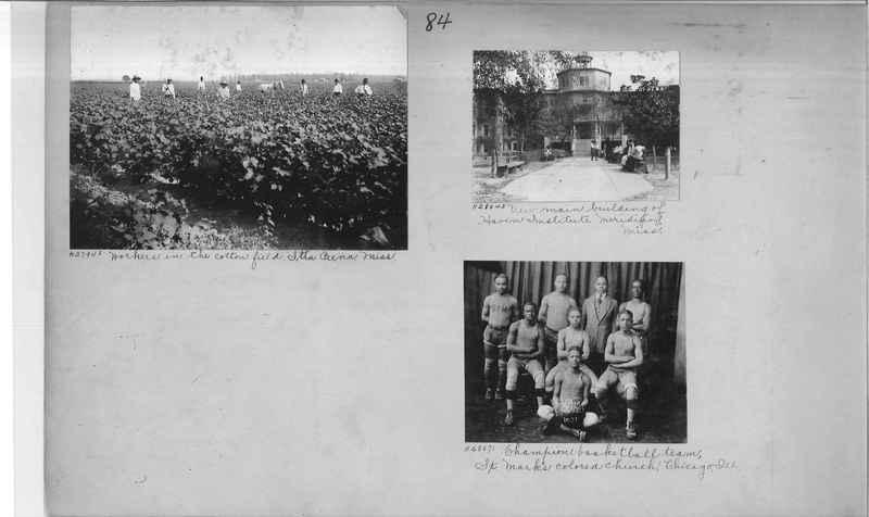Mission Photograph Album - Negro #4 page 0084