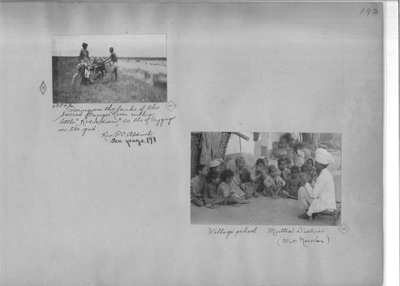 Mission Photograph Album - India - O.P. #02 Page 0193