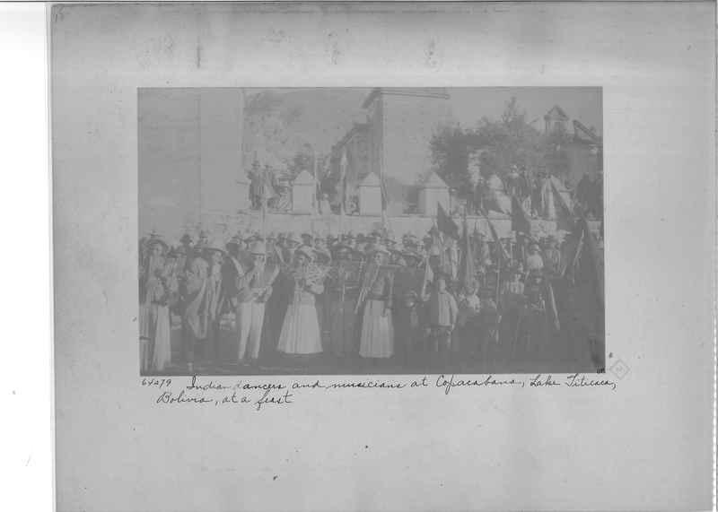Mission Photograph Album - South America O.P. #3 page 0018
