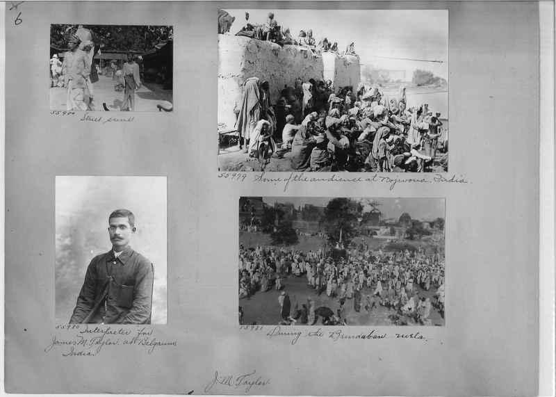 Mission Photograph Album - India #08 Page 0006