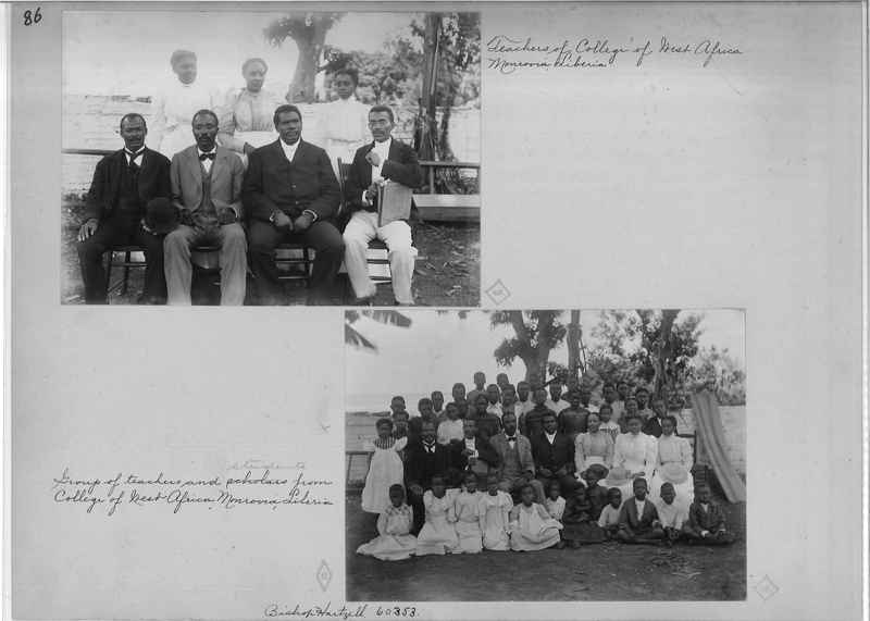 Mission Photograph Album - Africa - Madeira O.P. #2 page 0086