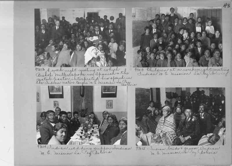 Misson Photograph Album - South America #8 page 0043