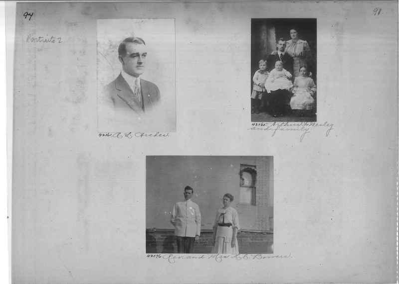 Mission Photograph Album - Portraits #2 page 0094