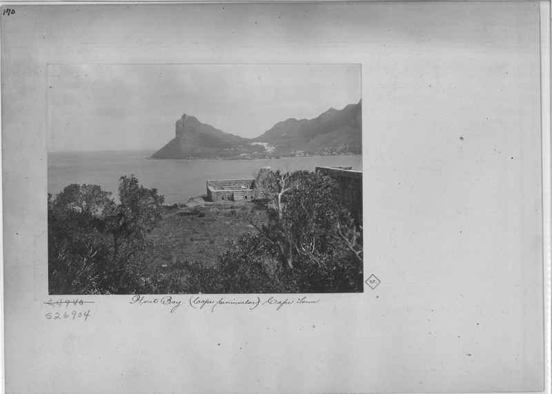 Mission Photograph Album - Africa - Madeira O.P. #1 page 0170