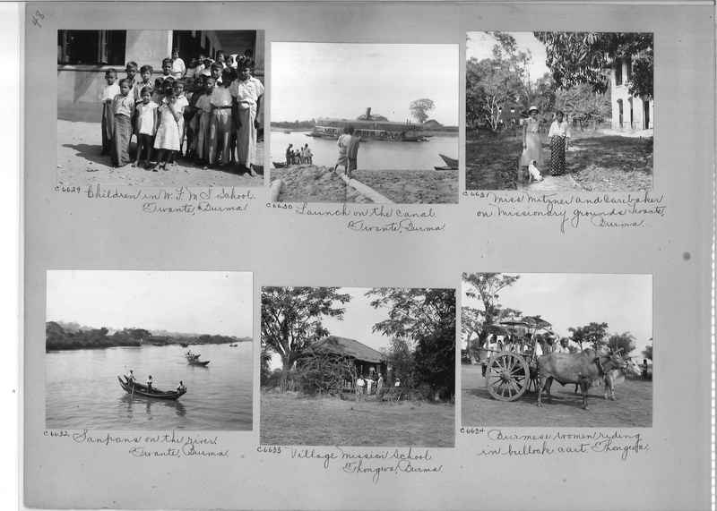 Mission Photograph Album - Burma #2 page 0048