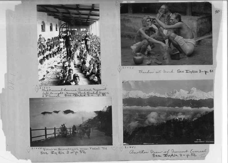 Mission Photograph Album - India - O.P. #01 Page 0095
