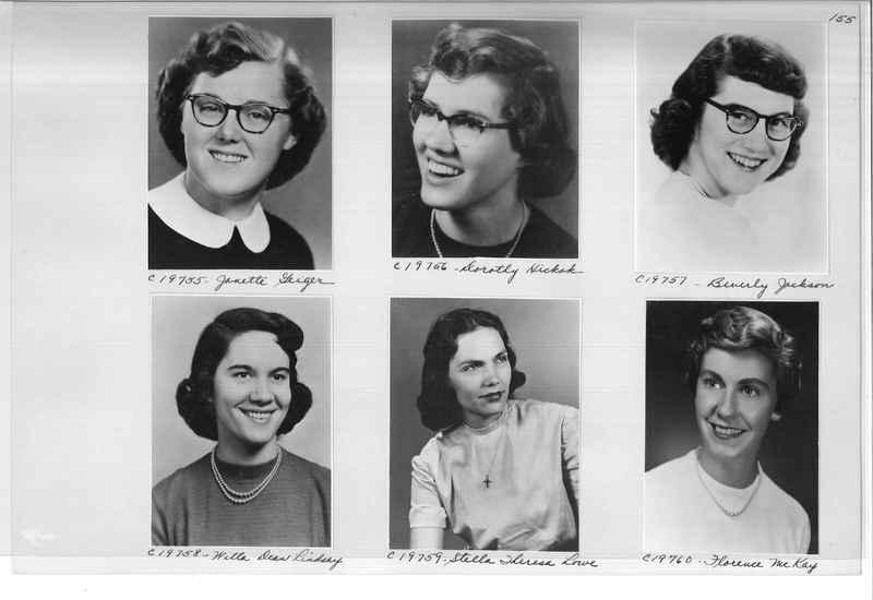 Mission Photograph Album - Portraits #08 Page 0155