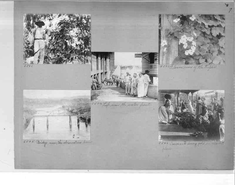 Mission Photograph Album - Panama #1 page  0007