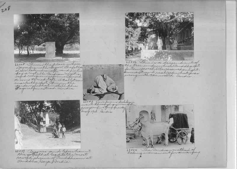 Mission Photograph Album - India #08 Page 0208
