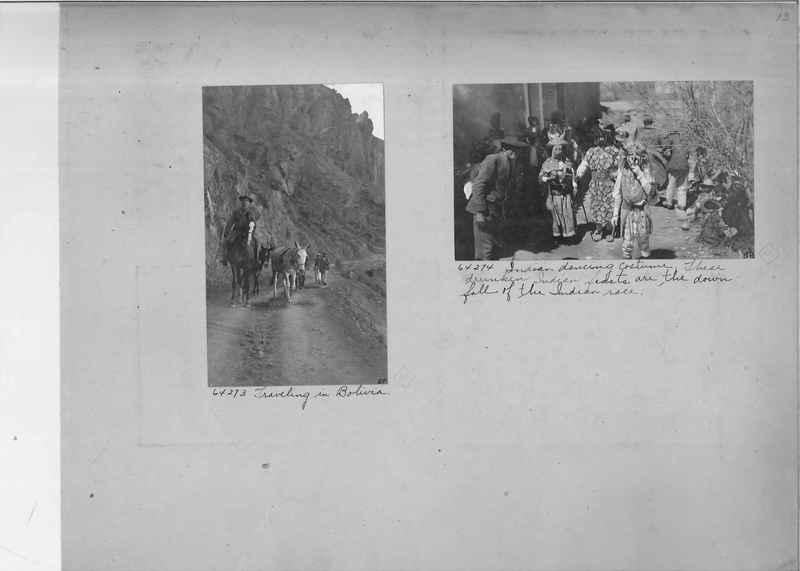 Mission Photograph Album - South America O.P. #3 page 0013