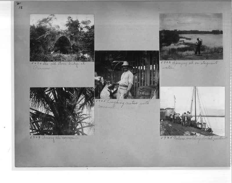 Mission Photograph Album - Panama #1 page  0018