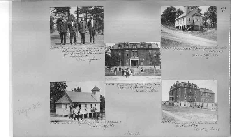 Mission Photograph Album - Negro #3 page 0071