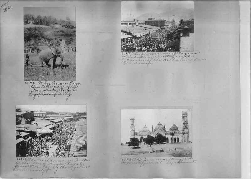 Mission Photograph Album - India #08 Page 0030