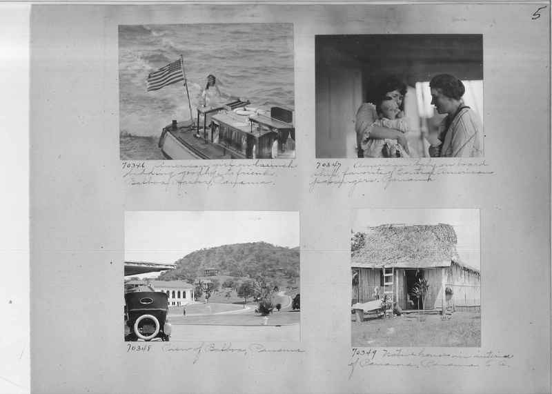 Mission Photograph Album - Panama #03 page 0005