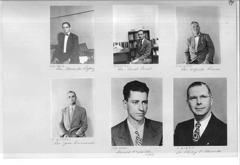 Mission Photograph Album - Portraits #10 Page 0099