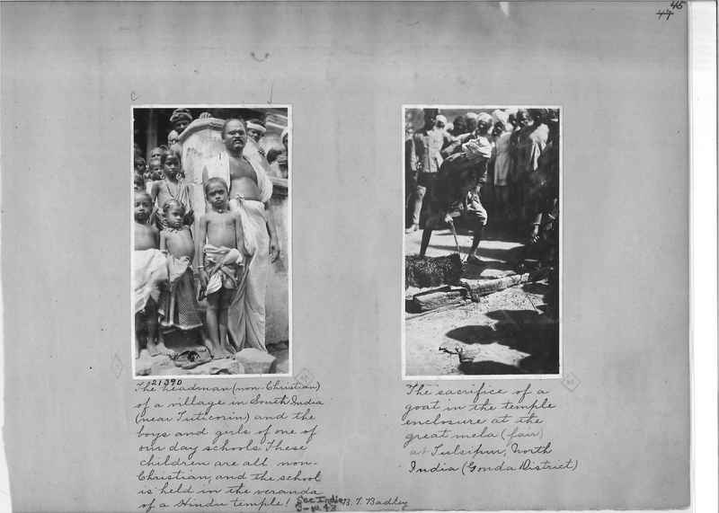 Mission Photograph Album - India - O.P. #01 Page 0045