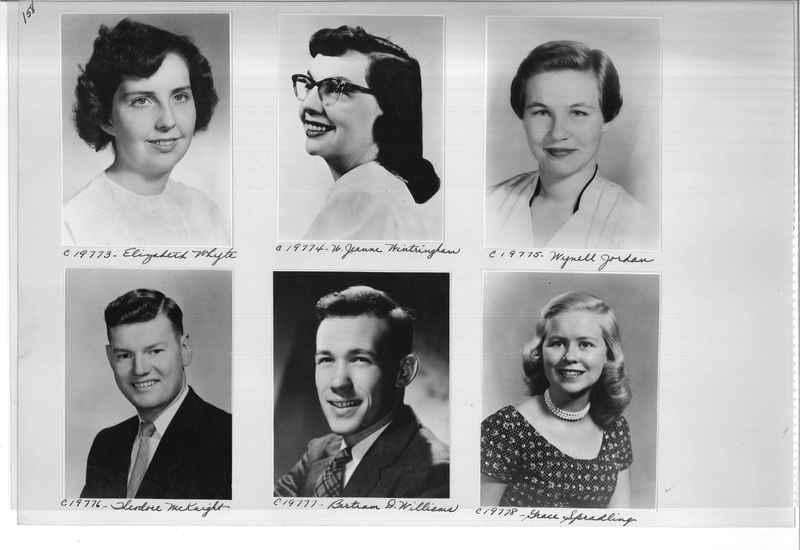 Mission Photograph Album - Portraits #08 Page 0158
